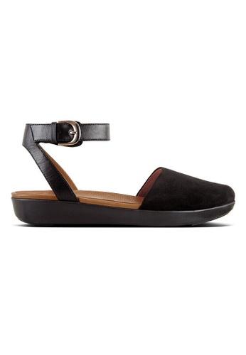 5a23a94a5ce1 Fitflop black Fitflop Cova Closed-Toe Sandals Suede (Black)  F99D8SH0F6F0E4GS 1
