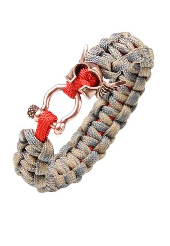HAPPY FRIDAYS Soldier's helmet Paracord Bracelet QNW2482 33368ACF1C1A73GS_1