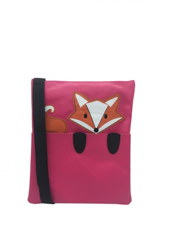 Stylesource pink Sling Bag Fox Des SC015 ST896AC0JS2RPH_1