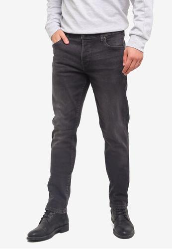 Jack & Jones 灰色 Washed Straight Jeans 6F80DAA9E5739EGS_1