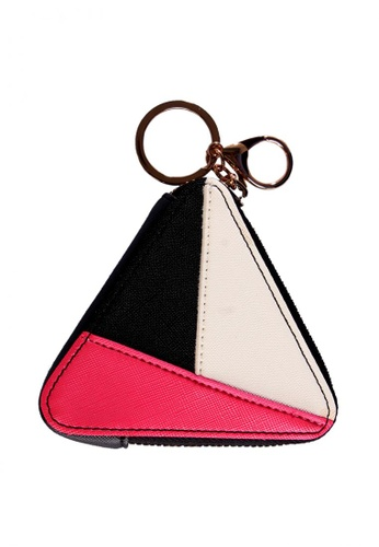 Treasure by B & D multi PU Leather Women Triangle Zipper Coin Purse TR022AC0JQ2BPH_1