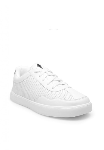 ONE UP white Grayson Young Kid's Sneakers Shoes 2D4EAKS81605A0GS_1