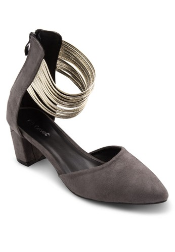 Covet 多帶繞踝尖頭高跟鞋, 女鞋, esprit 尖沙咀中跟