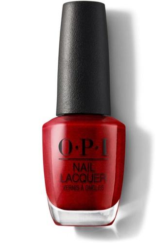 O.P.I red NLR53 - NL - AN AFFAIR IN RED SQUARE 13CD1BE4CC317FGS_1