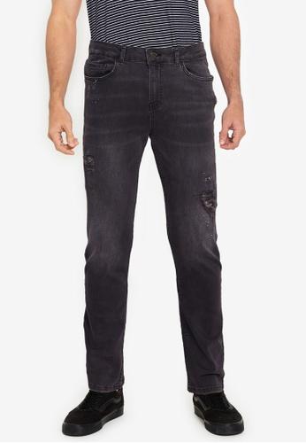 Aeropostale grey Slim Fit Jeans 7D530AAE1EA223GS_1
