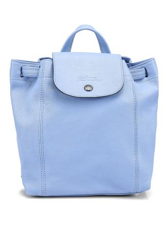 LONGCHAMP blue Le Pliage Cuir Backpack (zt) 78F6CAC27F39ECGS_1