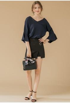 0e595764f92a Eyescream High Slit Mini Skirt RM 109.00. Sizes S M L