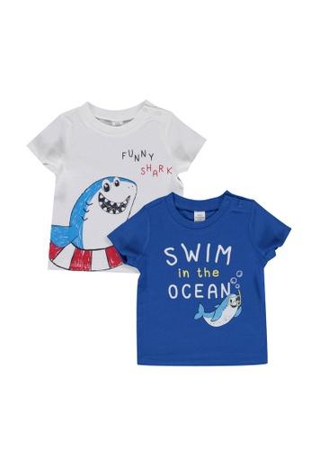 LC Waikiki white 2-Pack Baby Boy Printed Cotton T-Shirt 1886CKAA0E6095GS_1