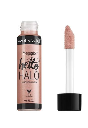 Wet N Wild pink Wet N Wild MegaGlo Hello Halo Liquid Highlighter - Halo Gorgeous D0079BE88F054DGS_1