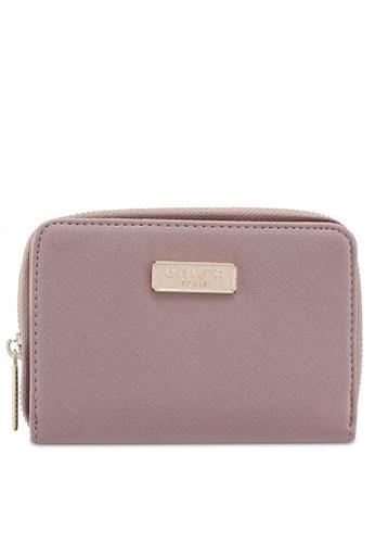 Unisa purple Saffiano Medium Ladies Zip-Up Wallet 11D2EACC4201A1GS_1