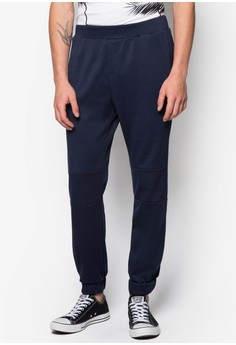 Knee Paneled Jogger Pants