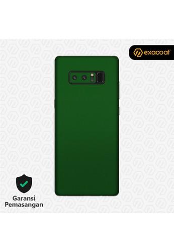 Exacoat Galaxy Note 8 Skins True Colors - Emerald Green B2D3DES84A852DGS_1