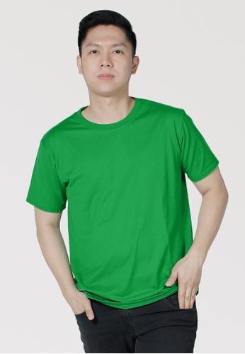 CROWN green Men's Round Neck Tshirt 4A786AA94D8511GS_1