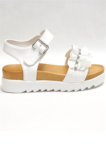 Crystal Korea Fashion white Korean Made Summer Rhinestone Crunchy Platform Sandals E3135SHABE532EGS_1