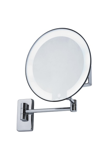 JVD JVD Lifestyle Cosmos Wall-Mount Cosmetic Mirror – Magnification 5X, Chrome finishing DD61CHLF42355DGS_1