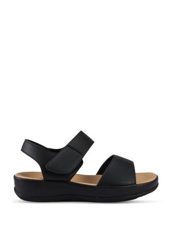 Speedy Rhino black Kids Comfort Sandals 907DAKS667DAA4GS_1
