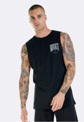 DVNT black Riot and Rebellion Tank DV344AA0GLOYSG_1