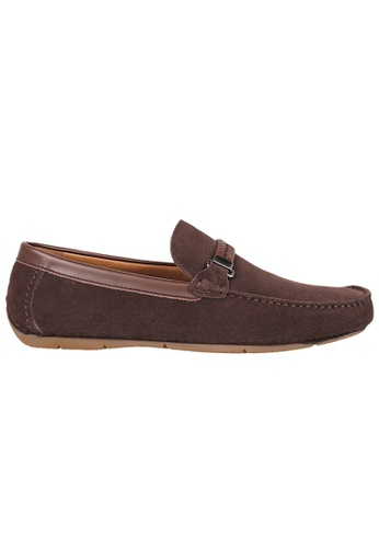 Tomaz brown Tomaz C337 Braided Buckled Loafers (Coffee) FADF1SH23FE7B6GS_1