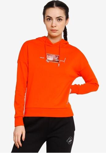 361° orange Sports Life Hoodie 3B029AAD116EBAGS_1