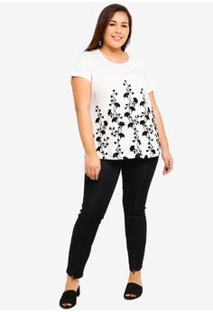 be85587065fbd 40% OFF Junarose Plus Size Queen Dark Blue Ankle Split Hem Jeans RM 249.00  NOW RM 148.90 Sizes 42 50