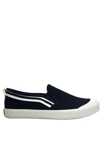 Twenty Eight Shoes 黑色 織帶輕便鞋 VC1610 92ED6SHE4A5F2CGS_1