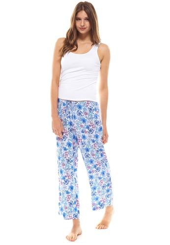 花瓣印花睡衣組, 服esprit 鞋飾, 睡衣套裝