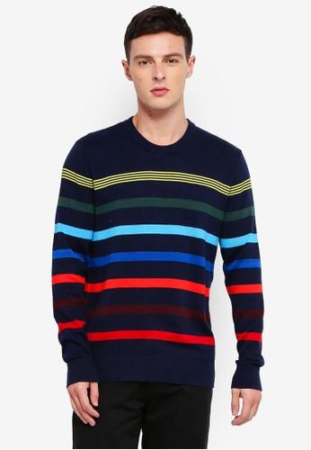 GAP navy Crazy Breton Stripe Sweater 65242AAF6CCA9FGS_1