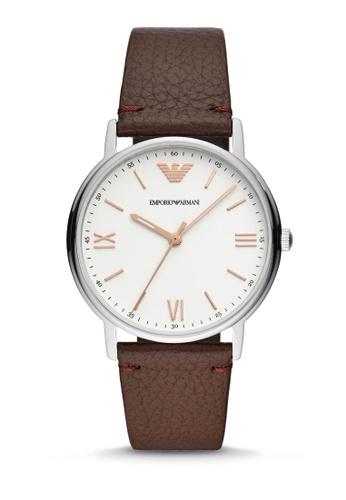 ARMANI brown Kappa Analog Watch AR11173 80152AC356B2E2GS_1