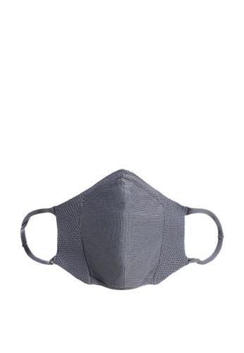 Violeta by MANGO grey Reusable Homologated Facemask E33DAES9707886GS_1