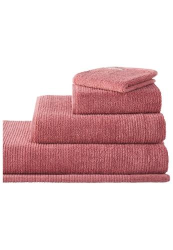 Sheridan pink Living Textures Earth Rose Bath Towel 33D82HLDA39A87GS_1