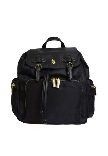 U.S. Polo Assn. green U.S. Polo Assn. Houston Backpack - BIUHU4922WIP 0453DAC7013EEBGS_1