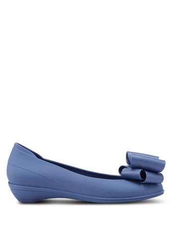 Twenty Eight Shoes 藍色 蝴蝶結平底鞋 D35FFSH22ACE54GS_1