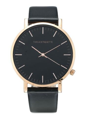 Thread Etiquette multi Classic-Rose Gold/Black Timepiece 17939AC14B119BGS_1