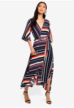 c6c12d9baa 10% OFF AX Paris Block Stripe Midi Dress RM 259.00 NOW RM 232.90 Sizes 8 10  12 14