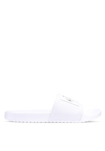 Calvin Klein white Vital Slides 899E5SHB875DAAGS_1