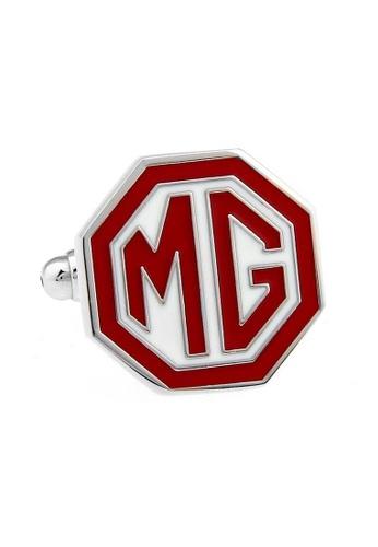The Little Link Cufflinks red MG Logo cufflinks TH089AC0G4ZLSG_1