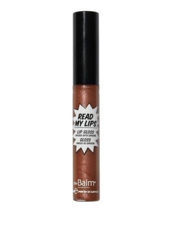the Balm brown Read My Lips lipgloss- KA-BANG! 9DC4DBE85A8A55GS_1