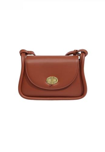 Twenty Eight Shoes brown Classic Chic Shoulder Bag JW FB-6816 5AD0AACBB7977EGS_1