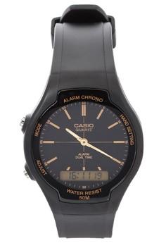 Ana-Digital Watch AW-90H-9E