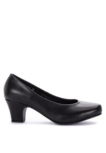 432361e0bb5ff Shop Janylin Round Toe Mid Heel Court Shoes Online on ZALORA Philippines