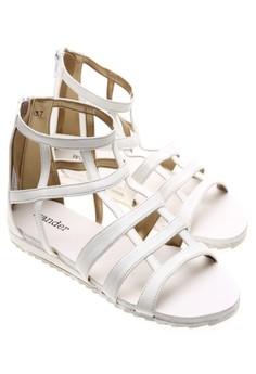 Wander Alexandria Sandals (White)
