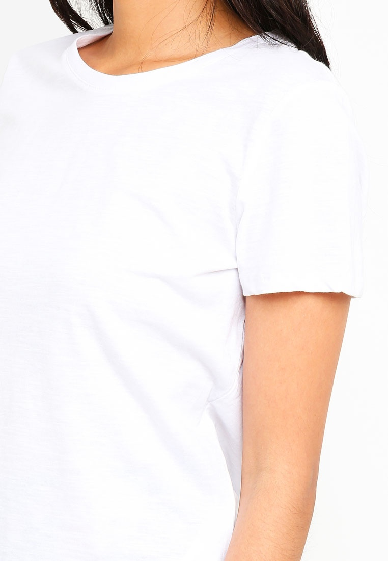 On White Crew The Cotton Shirt T Tdw8qUxq