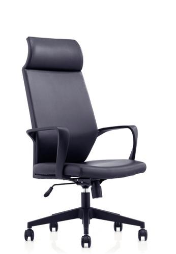 AMERCIS black Amercis Ken A Leather Office Chair 76049HL1EEA2DEGS_1