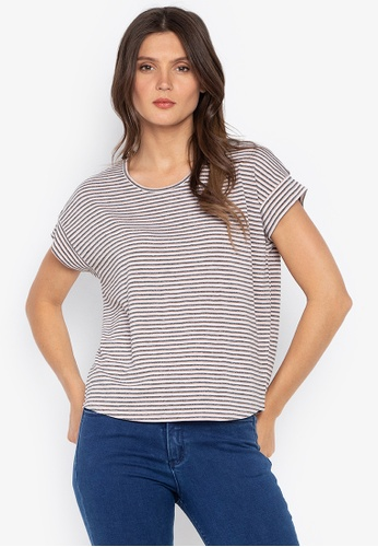 MEMO grey Regular Fit Tee With Back Slits 26D9BAA9BE955DGS_1
