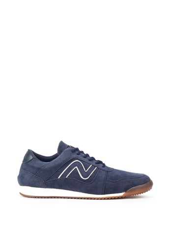 Navara blue Carver Blue Sneakers 857BCSH0A44475GS_1