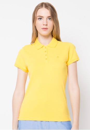 "Bossini yellow S/Slv Soild ""Icon"" Polo(Bl 23) BO894AA02UDDID_1"