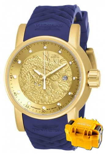 INVICTA gold Invicta S1 Rally Automatic Men IP 48mm Racing Tour Watch 18215 w/ Impact Case D758CAC5A0FCC3GS_1