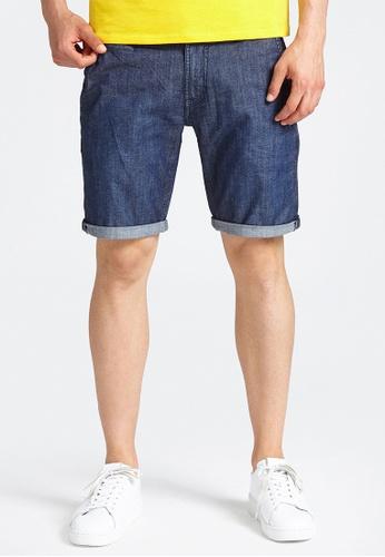 GUESS blue Guess Vicente Denim Shorts AB5EBAA6B08F08GS_1