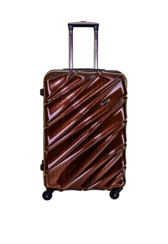 "Travelex brown Travelex 005 Hard Case Luggage 23"" 059E6AC5156F10GS_1"