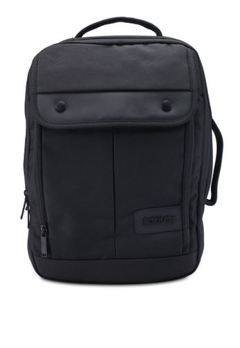 Bagstationz black Premium Multi Compartment Laptop Backpack 08F1AAC39A10E3GS_1